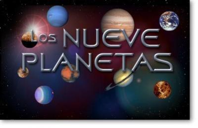 Los Nueve Planetas